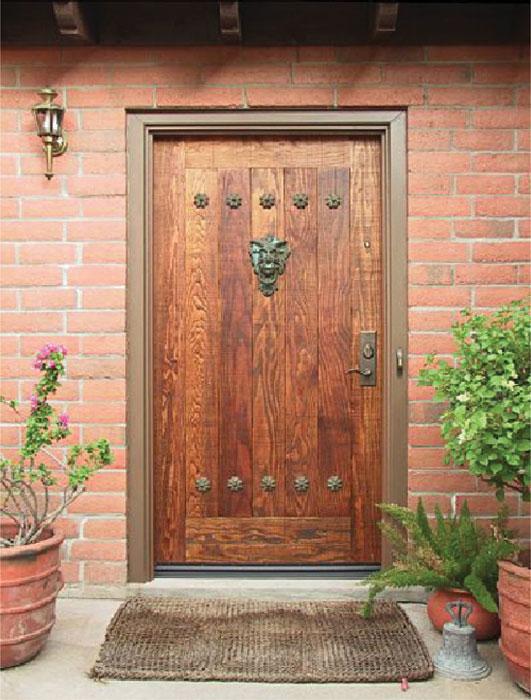 оригинальная облицовка металлической двери