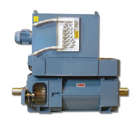 Электродвигатели постоянного тока ABB серии DMI