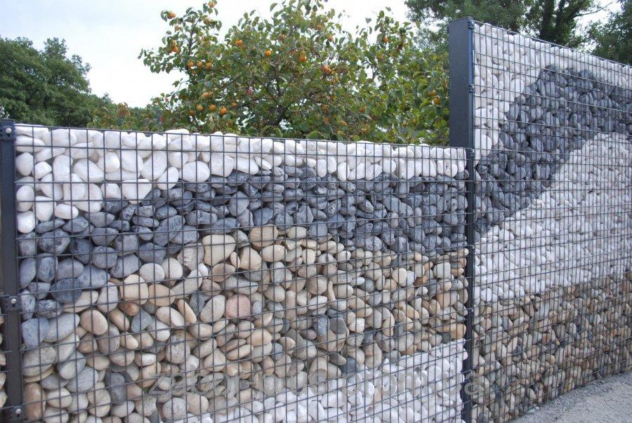 Забор из натурального камня :: Все для стройки
