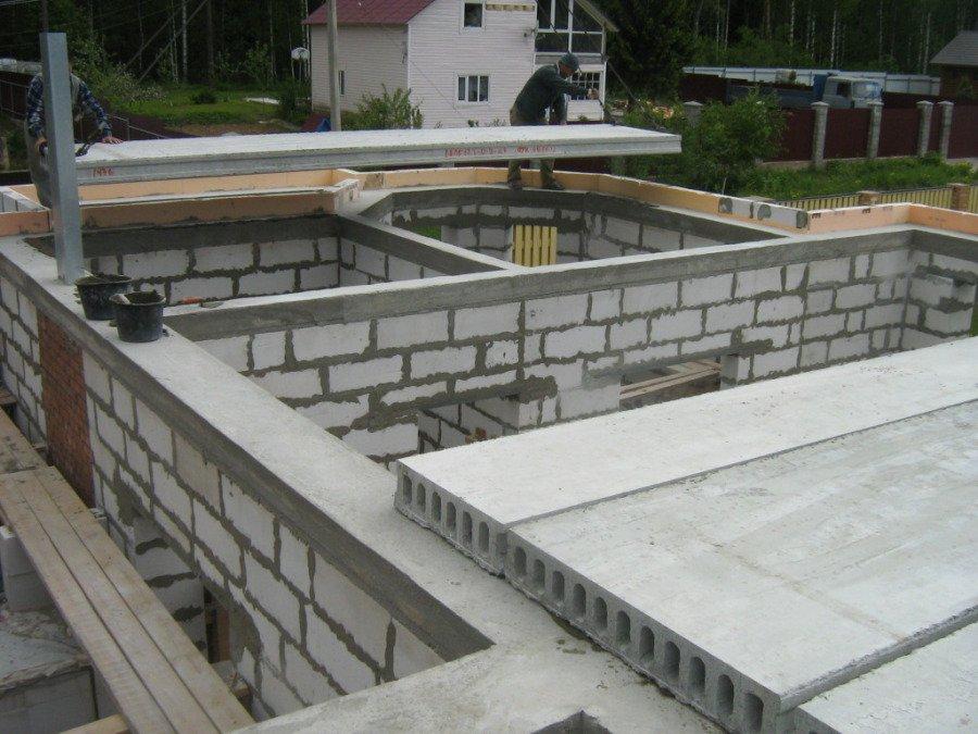 плиты перекрытия на газосиликатные блоки