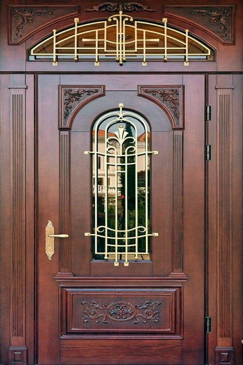 каталог входные парадные двери из кованной стали