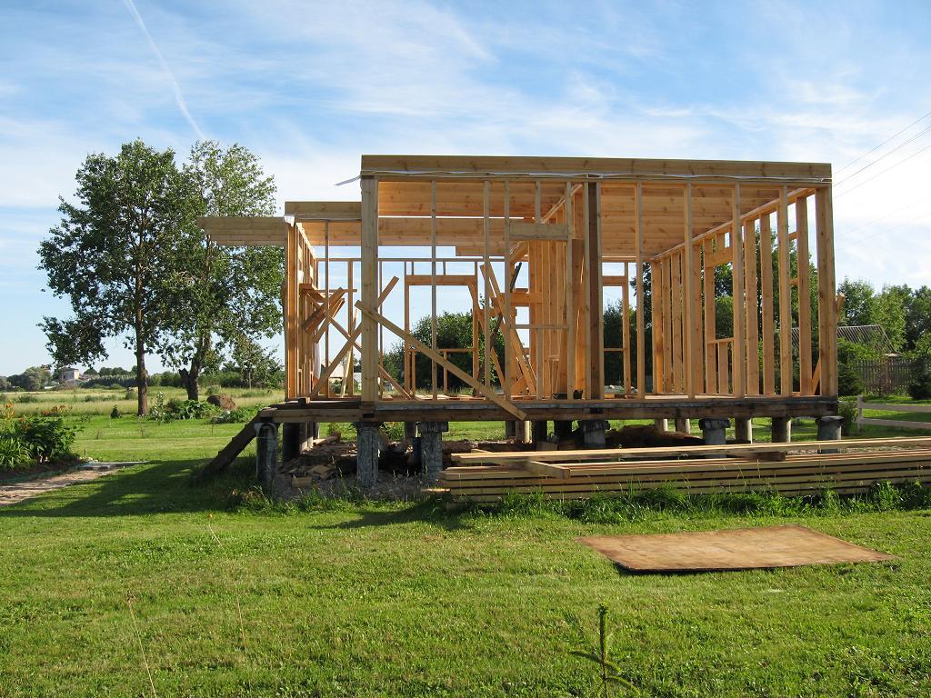 Построить дом своими руками проекты фото 71