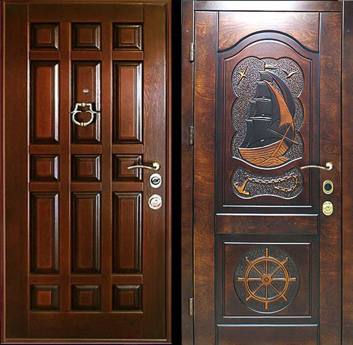 элитные металлические двери цена