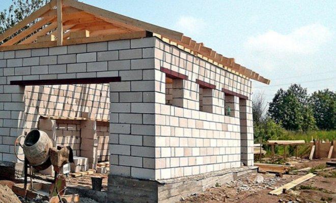 Как построить каркас для гаража своими руками фото 582