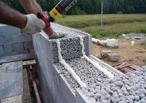 Строительство из керамзитобетонных блоков своими руками