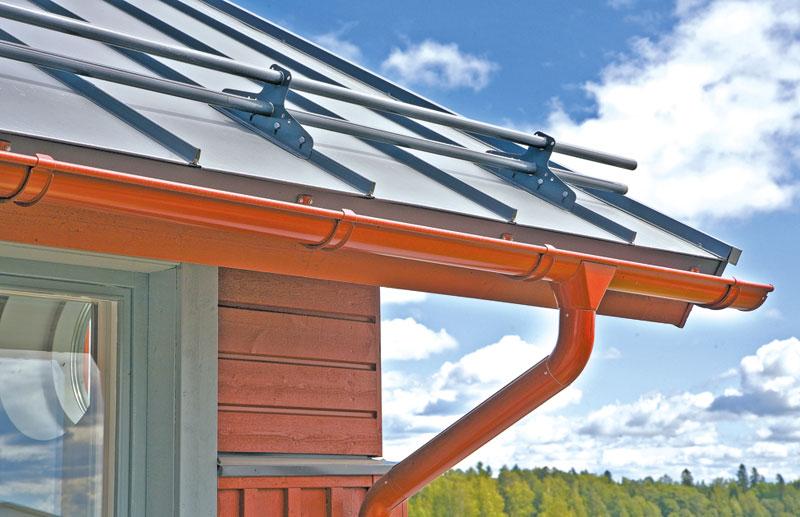 Как правильно сделать отливы для крыши 31