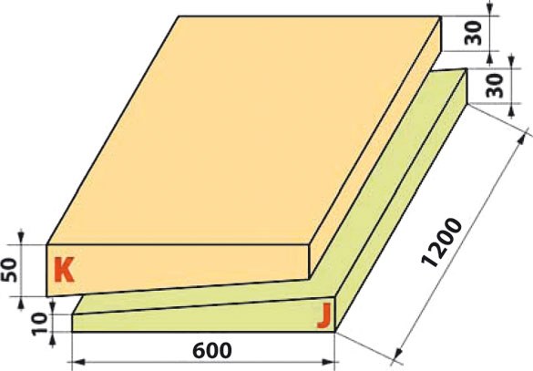 размер плиты пенополистирола