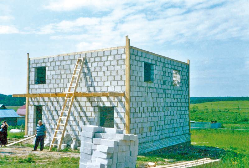 Строительство с пенобетона своими руками